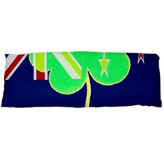 Irish Shamrock New Zealand Ireland Funny St Patrick Flag Body Pillow Case Dakimakura (two Sides) by yoursparklingshop