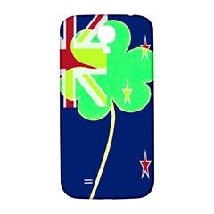 Irish Shamrock New Zealand Ireland Funny St Patrick Flag Samsung Galaxy S4 I9500/i9505  Hardshell Back Case by yoursparklingshop