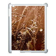 Ice Iced Structure Frozen Frost Apple iPad 3/4 Case (White) by Amaryn4rt