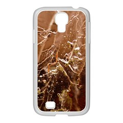 Ice Iced Structure Frozen Frost Samsung Galaxy S4 I9500/ I9505 Case (white) by Amaryn4rt