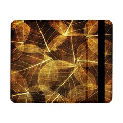 Leaves Autumn Texture Brown Samsung Galaxy Tab Pro 8 4  Flip Case