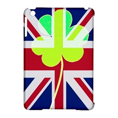 Irish British Shamrock United Kingdom Ireland Funny St  Patrick Flag Apple Ipad Mini Hardshell Case (compatible With Smart Cover)