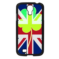 Irish British Shamrock United Kingdom Ireland Funny St  Patrick Flag Samsung Galaxy S4 I9500/ I9505 Case (black)