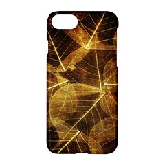 Leaves Autumn Texture Brown Apple Iphone 7 Hardshell Case