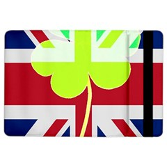 Irish British Shamrock United Kingdom Ireland Funny St  Patrick Flag Ipad Air 2 Flip