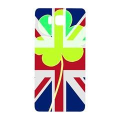Irish British Shamrock United Kingdom Ireland Funny St  Patrick Flag Samsung Galaxy Alpha Hardshell Back Case