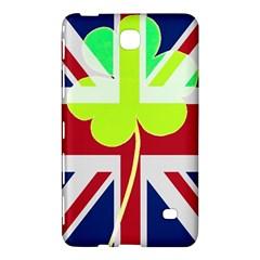 Irish British Shamrock United Kingdom Ireland Funny St  Patrick Flag Samsung Galaxy Tab 4 (7 ) Hardshell Case