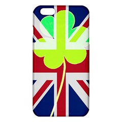 Irish British Shamrock United Kingdom Ireland Funny St  Patrick Flag Iphone 6 Plus/6s Plus Tpu Case by yoursparklingshop