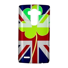 Irish British Shamrock United Kingdom Ireland Funny St  Patrick Flag Lg G4 Hardshell Case