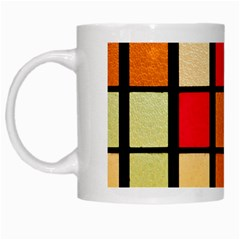 Mozaico Colors Glass Church Color White Mugs by Amaryn4rt