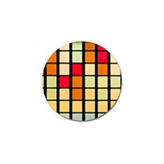 Mozaico Colors Glass Church Color Golf Ball Marker by Amaryn4rt