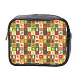Pattern Christmas Patterns Mini Toiletries Bag 2-Side Front