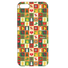 Pattern Christmas Patterns Apple Iphone 5 Hardshell Case With Stand by Amaryn4rt