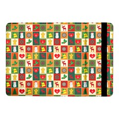 Pattern Christmas Patterns Samsung Galaxy Tab Pro 10 1  Flip Case by Amaryn4rt