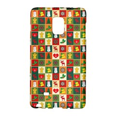 Pattern Christmas Patterns Galaxy Note Edge by Amaryn4rt