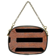 Stainless Rust Texture Background Chain Purses (one Side)  by Amaryn4rt