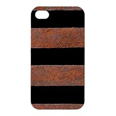 Stainless Rust Texture Background Apple Iphone 4/4s Hardshell Case by Amaryn4rt