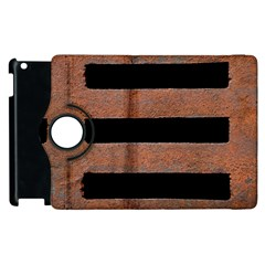 Stainless Rust Texture Background Apple Ipad 3/4 Flip 360 Case by Amaryn4rt