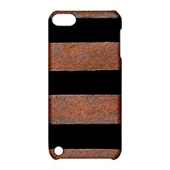 Stainless Rust Texture Background Apple Ipod Touch 5 Hardshell Case With Stand by Amaryn4rt