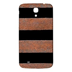 Stainless Rust Texture Background Samsung Galaxy Mega I9200 Hardshell Back Case by Amaryn4rt