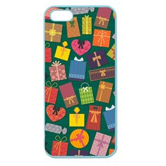 Presents Gifts Background Colorful Apple Seamless Iphone 5 Case (color) by Amaryn4rt