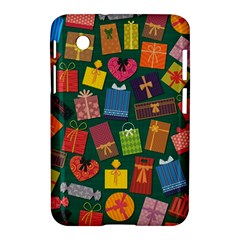 Presents Gifts Background Colorful Samsung Galaxy Tab 2 (7 ) P3100 Hardshell Case  by Amaryn4rt