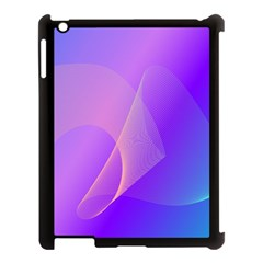 Vector Blend Screen Saver Colorful Apple Ipad 3/4 Case (black) by Amaryn4rt