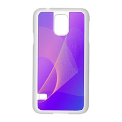 Vector Blend Screen Saver Colorful Samsung Galaxy S5 Case (white) by Amaryn4rt