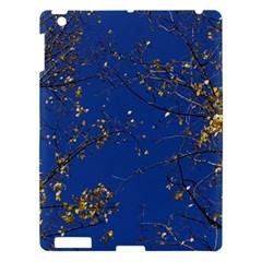 Poplar Foliage Yellow Sky Blue Apple Ipad 3/4 Hardshell Case by Amaryn4rt