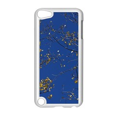 Poplar Foliage Yellow Sky Blue Apple Ipod Touch 5 Case (white) by Amaryn4rt