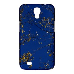 Poplar Foliage Yellow Sky Blue Samsung Galaxy Mega 6 3  I9200 Hardshell Case by Amaryn4rt