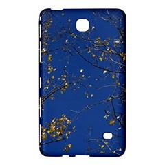 Poplar Foliage Yellow Sky Blue Samsung Galaxy Tab 4 (7 ) Hardshell Case  by Amaryn4rt
