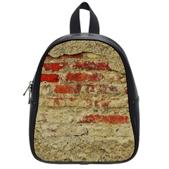 Wall Plaster Background Facade School Bags (small)  by Amaryn4rt