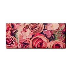 Beautiful Pink Roses Cosmetic Storage Cases by Brittlevirginclothing
