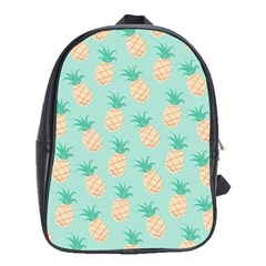 Cute Pineapple  School Bags(large)  by Brittlevirginclothing