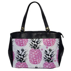 Lovely Pink Pineapple  Office Handbags by Brittlevirginclothing