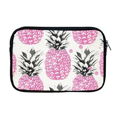 Lovely Pink Pineapple  Apple Macbook Pro 17  Zipper Case by Brittlevirginclothing
