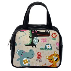 Lovely Cartoon Animals Classic Handbags (one Side) by Brittlevirginclothing