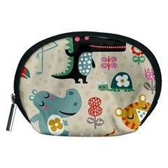Lovely Cartoon Animals Accessory Pouches (medium)  by Brittlevirginclothing