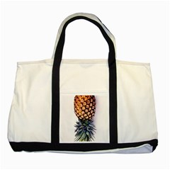 La Pina Pineapple Two Tone Tote Bag by Brittlevirginclothing