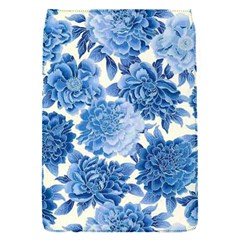 Blue Toned Flowers Flap Covers (s)  by Brittlevirginclothing