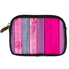Pink Colored Wood Digital Camera Cases by Brittlevirginclothing