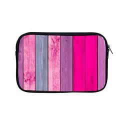 Pink Colored Wood Apple Macbook Pro 13  Zipper Case