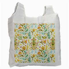 Cute Small Colorful Flower  Recycle Bag (two Side)  by Brittlevirginclothing