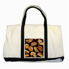 Delicious Snacks  Two Tone Tote Bag by Brittlevirginclothing