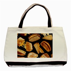 Delicious Snacks  Basic Tote Bag (two Sides) by Brittlevirginclothing