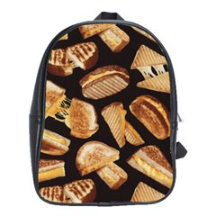 Delicious Snacks  School Bags(large)  by Brittlevirginclothing