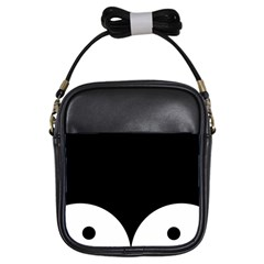 Adorable Pinguin Design Girls Sling Bags by Brittlevirginclothing