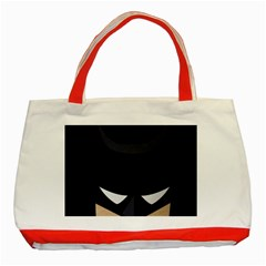 Batman Classic Tote Bag (red) by Brittlevirginclothing