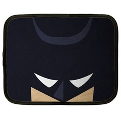 Batman Netbook Case (large) by Brittlevirginclothing